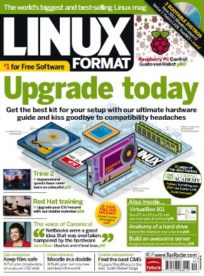 Cover of Linux Format issue 161